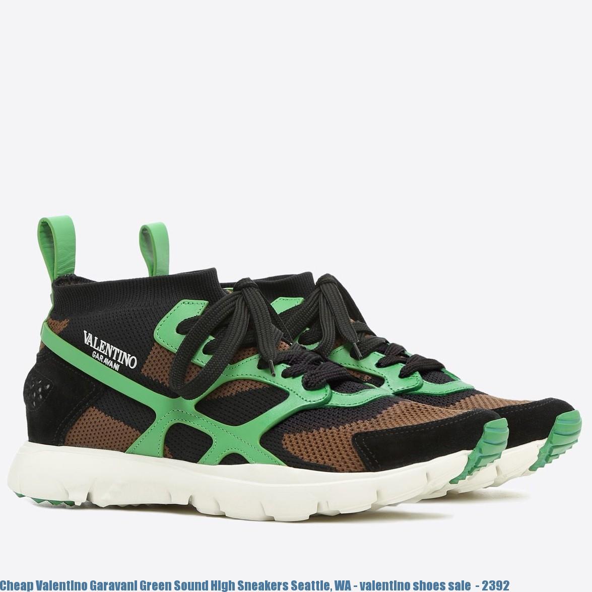 0df2bee559 Cheap Valentino Garavani Green Sound High Sneakers Seattle, WA - valentino  shoes sale - 2392